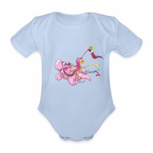 Bout 2 Hippogreif - Organic Short-sleeved Baby Bodysuit