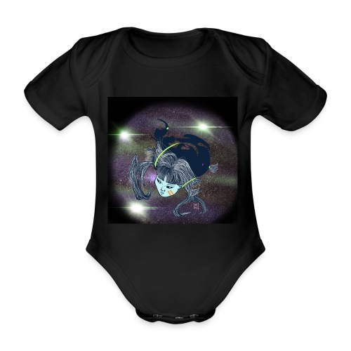 the Star Child - Organic Short-sleeved Baby Bodysuit