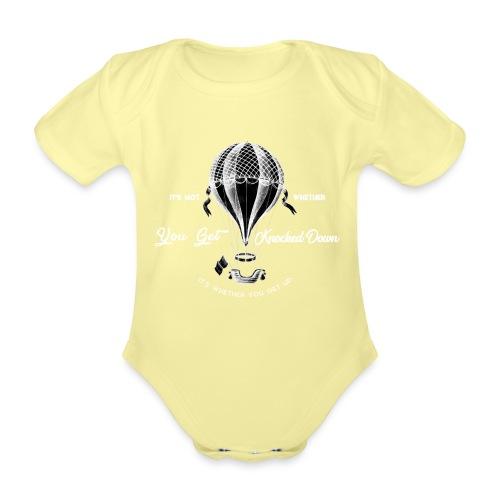 balon1 - Ekologiczne body niemowlęce z krótkim rękawem