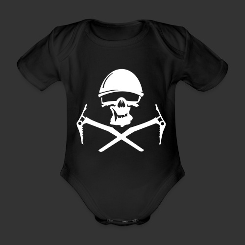 Climbing Skull - Baby Bio-Kurzarm-Body