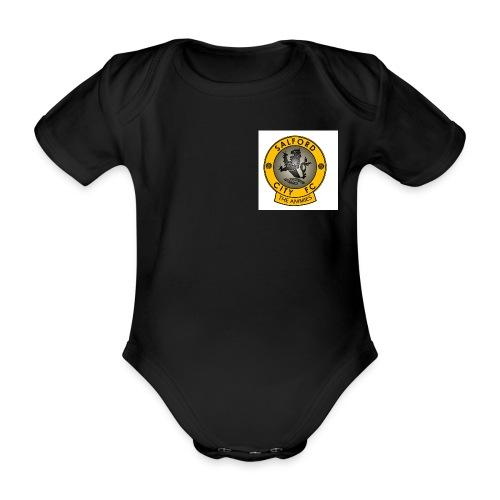 ammiesjpeg - Organic Short-sleeved Baby Bodysuit