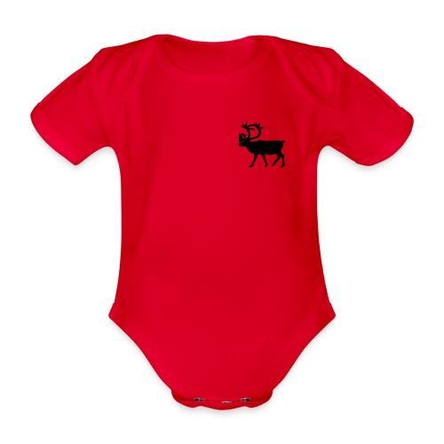Le Caribou - Body Bébé bio manches courtes