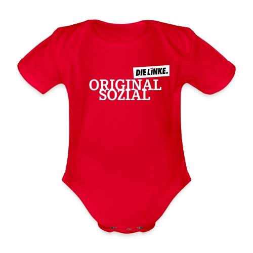 Schriftzug_original - Baby Bio-Kurzarm-Body