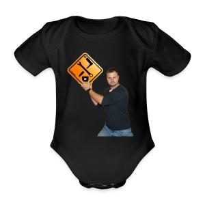 M1Molter + Logo - Baby Bio-Kurzarm-Body