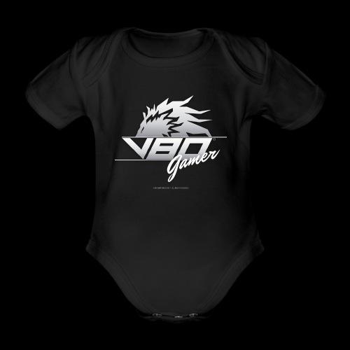 logo lionheartv80 chiaro trasparente - Body ecologico per neonato a manica corta