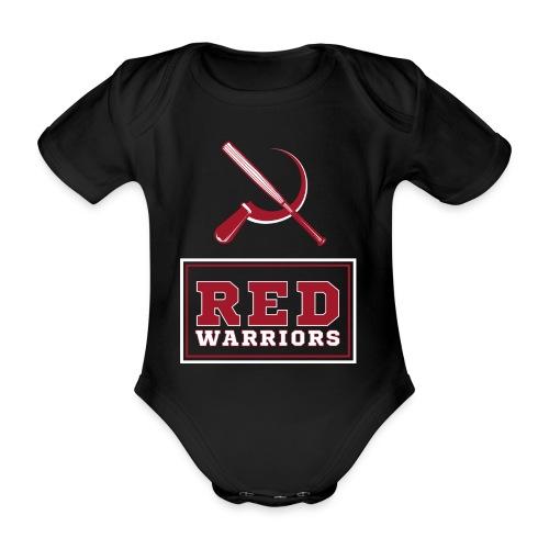 Red Warriors Logo2 - Body Bébé bio manches courtes