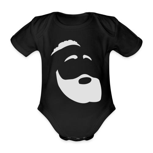 The Beard - Body ecologico per neonato a manica corta