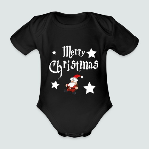 Merry Christmas - Ugly Christmas Sweater - Baby Bio-Kurzarm-Body