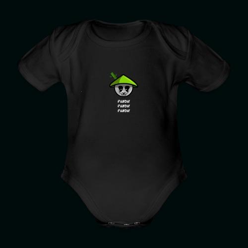 PANADAA png - Organic Short-sleeved Baby Bodysuit
