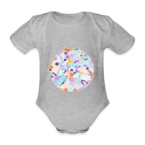 Creativity Relaxing originale JPG png - Body ecologico per neonato a manica corta