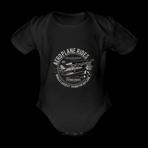 Aeroplane Ride - Baby Bio-Kurzarm-Body
