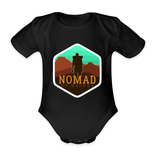 Nomad By Nature - Baby Bio-Kurzarm-Body