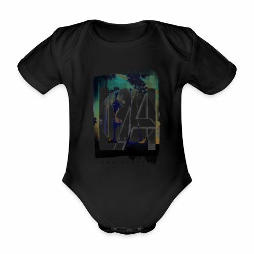 LA California - Organic Short-sleeved Baby Bodysuit
