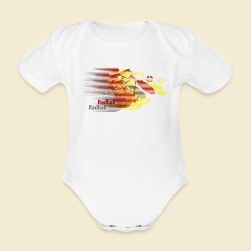Radball   Earthquake Germany - Baby Bio-Kurzarm-Body