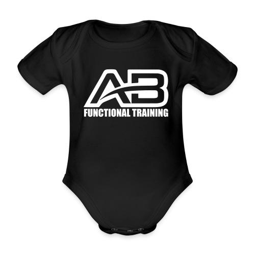 DEF_AB_DARK_BACKGROUND - Body ecologico per neonato a manica corta