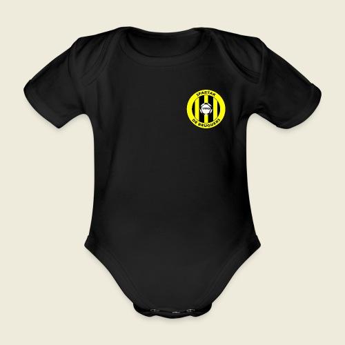 logospartak - Body orgánico de maga corta para bebé
