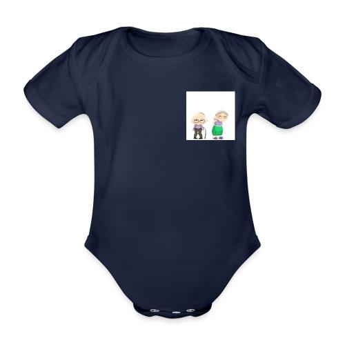 Grow old with me - Baby Bio-Kurzarm-Body