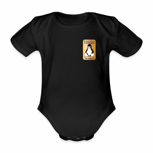 GNU/Linux Powered by FermoLUG - Body ecologico per neonato a manica corta