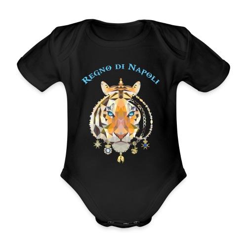 regno di napoli tigre - Body ecologico per neonato a manica corta