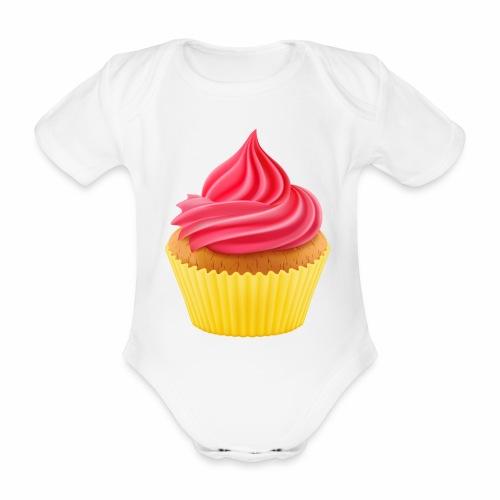 Cupcake - Baby Bio-Kurzarm-Body