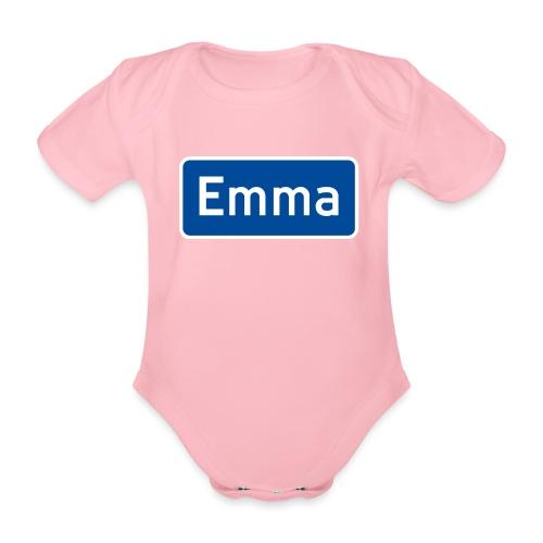 emma - Økologisk kortermet baby-body