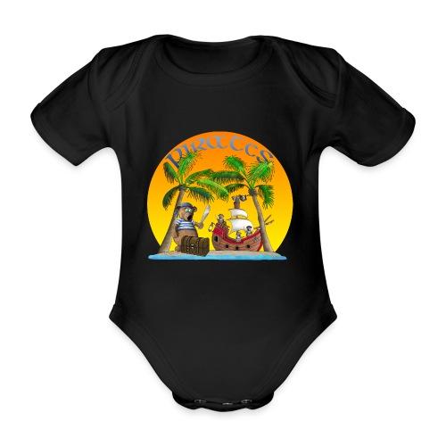 Piraten - Schatz - Baby Bio-Kurzarm-Body
