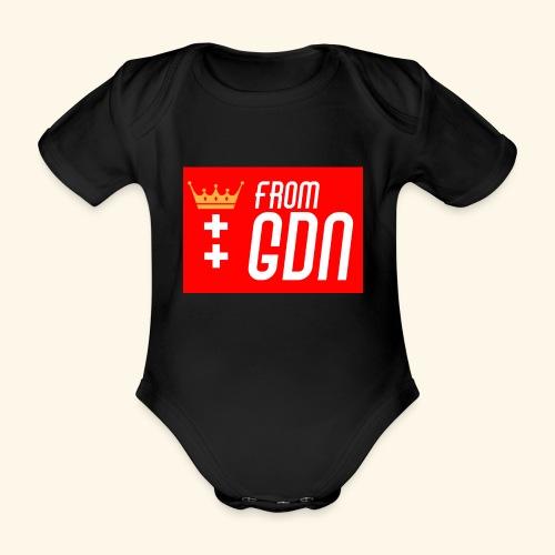 #fromGDN - Ekologiczne body niemowlęce z krótkim rękawem