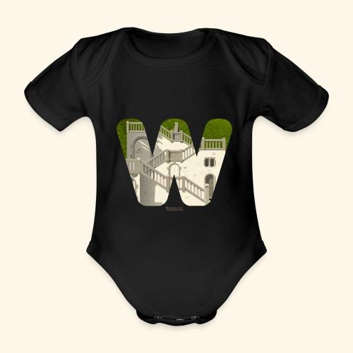 Wuppertal T-Shirt Vogelsauer Treppe - Baby Bio-Kurzarm-Body