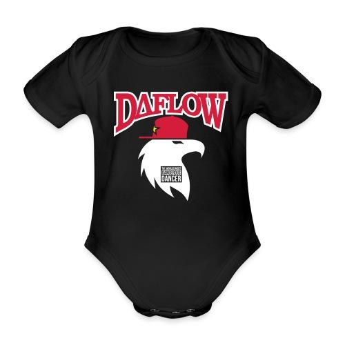 DANCER'S DAFLOW EAGLE EMBLEM - Baby Bio-Kurzarm-Body