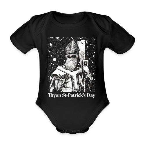 Thyon St-Patrick's Day - Body Bébé bio manches courtes