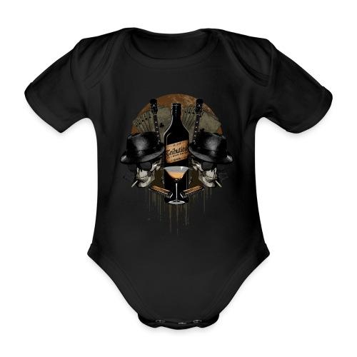 Death Blues by BY TRIBUTICA® - Baby Bio-Kurzarm-Body