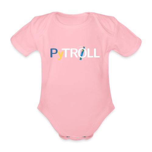pytröll - Organic Short-sleeved Baby Bodysuit