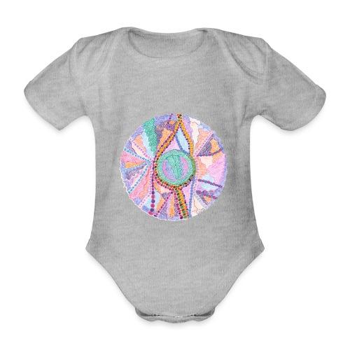 Creativity Exploring Jpeg2 png - Body ecologico per neonato a manica corta