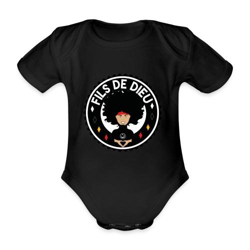 filsdeDieunoir - Body Bébé bio manches courtes