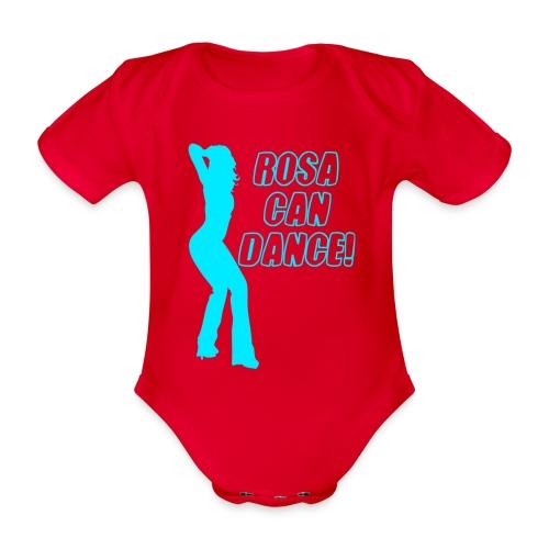rosacandance - Organic Short-sleeved Baby Bodysuit