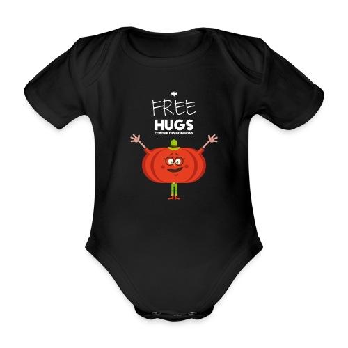 FREE HUGS - Body Bébé bio manches courtes