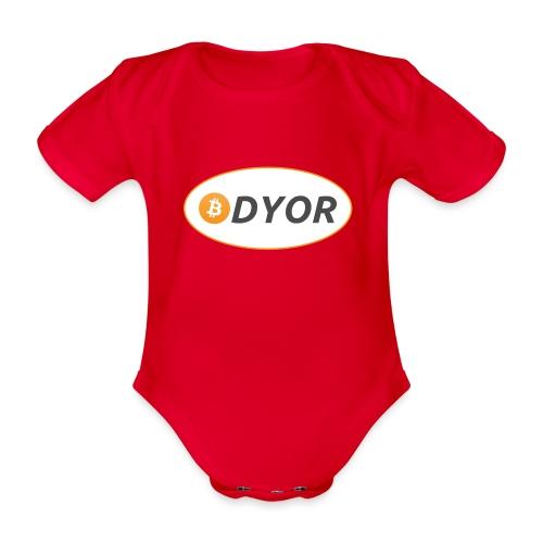 DYOR - option 2 - Organic Short-sleeved Baby Bodysuit