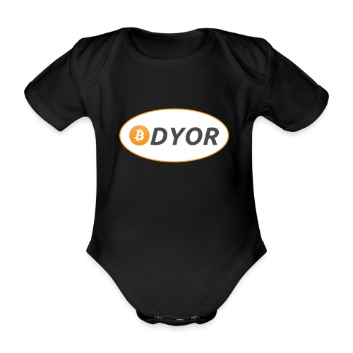 DYOR - option 2 - Organic Short-sleeved Baby Bodysuit
