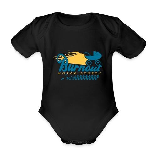 Burnout_Buggy - Baby Bio-Kurzarm-Body