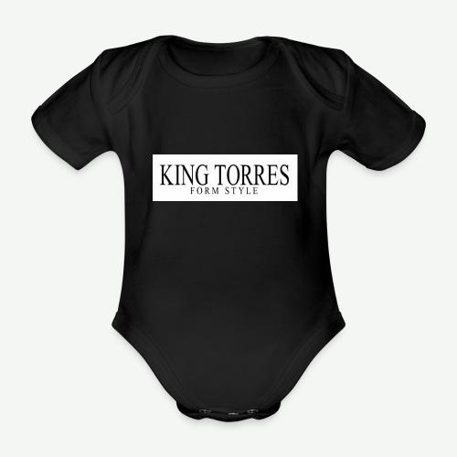 king torres - Body orgánico de manga corta para bebé