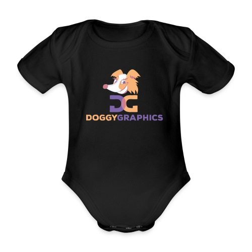 Choose Product & Print Any Design - Organic Short-sleeved Baby Bodysuit