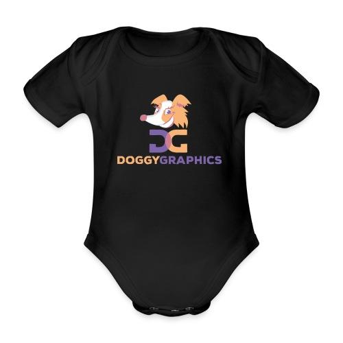 Choose Product & Print Any Design - Organic Short-sleeved Baby Bodysuit