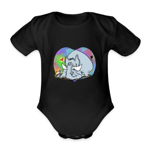 Vänfant - Ekologisk kortärmad babybody