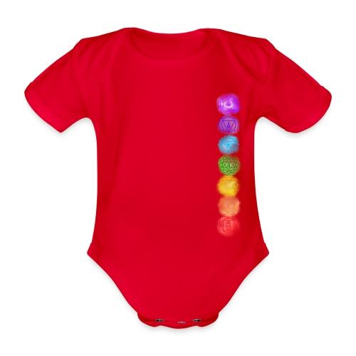 linea chakra - Body ecologico per neonato a manica corta