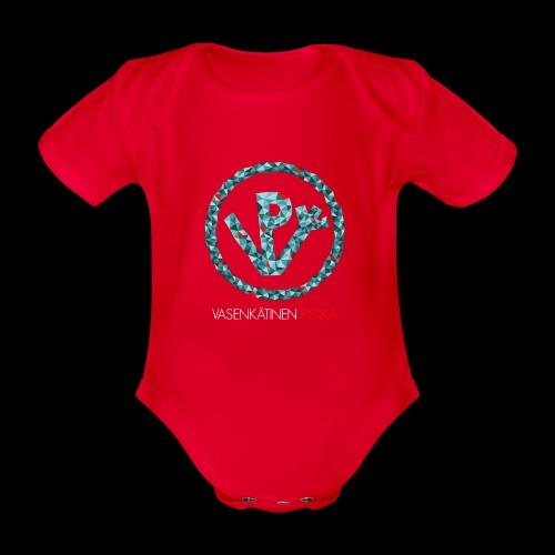 VP Mosaiikki - Vauvan lyhythihainen luomu-body