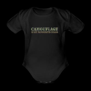 Camouflage Lempiväri armeija Army - Vauvan lyhythihainen luomu-body
