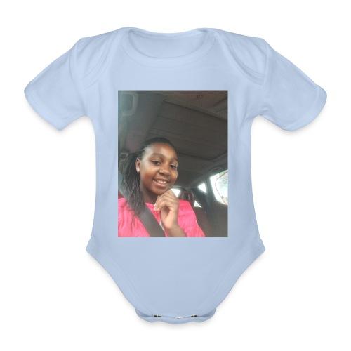 tee shirt personnalser par moi LeaFashonIndustri - Body Bébé bio manches courtes