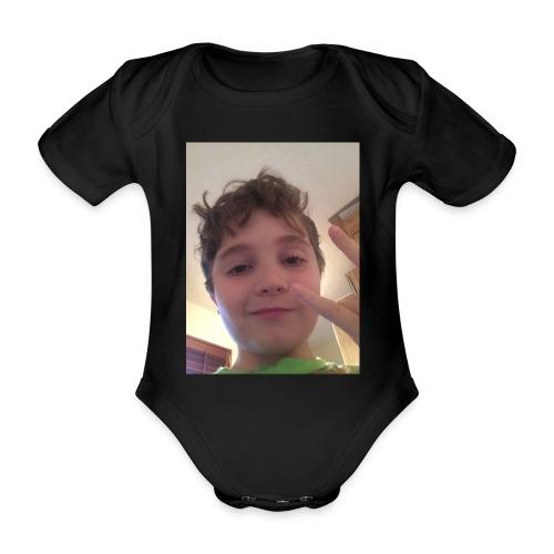 Champion321merch - Organic Short-sleeved Baby Bodysuit