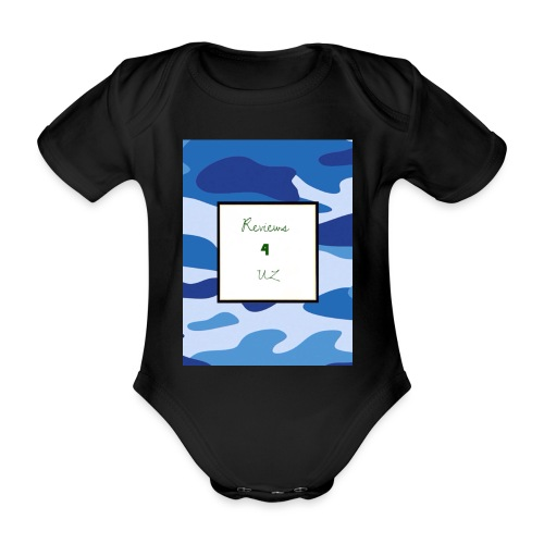 My channel - Organic Short-sleeved Baby Bodysuit