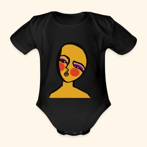 Hope - Ekologisk kortärmad babybody